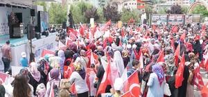 """Başkan Öz: """"Erzurum; 'Vatan ve İzzet' demektir, sandıkta gerekeni yapar"""""""