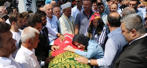 Kazada ölen İbrahim Özyer Samsun'da defnedildi