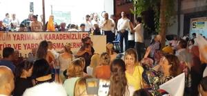 AK Parti Bodrum Konacık'ta sokak mitingi yaptı Milletvekili adayı Dr. Zafer  Alkaya vatandaşlardan yoğun ilgi gördü