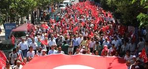 CHP Manisa'dan 'Büyük iktidar yürüyüşü' CHP Manisa Teşkilatı milletvekili adayları ve partililerle birlikte seçim yasakları öncesinde Manisa'da 'Büyük iktidar yürüyüşü' yaptı Yürüyüş sırasında İYİ Parti standının önünden geçen CHP'lilere alkışlarla destek verildi