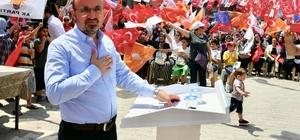 """AK Parti'li Turan: """"Hiç kimsenin sandık güvenliğine sandığın şeffaf demokratik yapısına söz söyleme hakkı olmaz"""""""