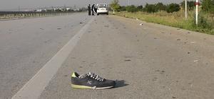 Konya'da otomobilin çarpması sonucu ölen kişinin kimliği belli oldu