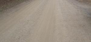 Gümeli Beldesi'nde mahallelinin yol tepkisi