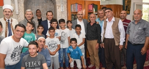 Vali Mahmut Demirtaş'tan esnaf ve vatandaş ziyareti