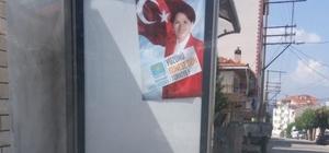 Manisa'da seçim afişlerine suç duyurusu