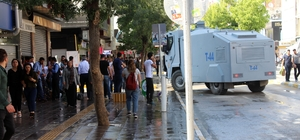Van'da HDP mitingi sonrası gerginlik