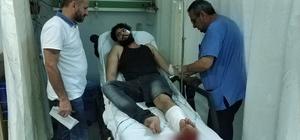 Samsun'da silahlı saldırıya uğrayan Suriyeli hastanelik oldu
