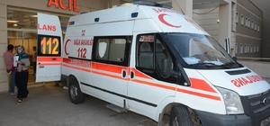 Siverek'te elektrik akımına kapılan işçi ağır yaralandı