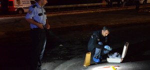 Karaman'da otomobilin çarptığı kişi öldü