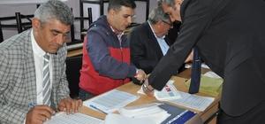 Kars'ta oy kullanma işlemi başladı