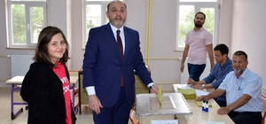 Başkan Ali Çetinbaş oyunu kullandı