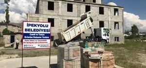 İpekyolu Belediyesi'nden cami ve taziye evlerine destek