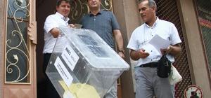 Seyyar sandıklar Bursa'da da seçmenin ayağına gitti
