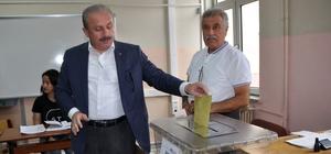 """AK Partili Şentop: """"Seçim güzel bir havada geçiyor"""""""
