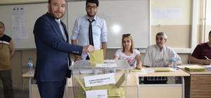 AK Parti Kırıkkale İl Başkanı Dağdelen oyunu kullandı
