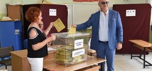 Başkanlar oylarını kullandı