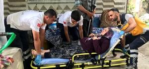 İl Sağlık Müdürlüğü'ne Bağlı 112 ve Evde sağlık Hizmetleri Ekipleri Sandığa Gidemeyen Hastaları Sandığa Götürdü
