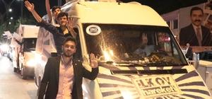 Kırşehir'de vatandaşlar sokaklara döküldü