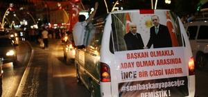 Tokat'ta AK Parti'liler ve MHP'liler kutlama yaptı