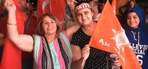 """İzmir'de seçim zaferiyle AK Parti'ye akın ettiler AK Parti İl Başkanı Aydın Şengül: """"Hedef 2019 İzmir Büyükşehir Belediyesi"""""""