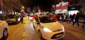 Erdoğan ve AK Parti'nin seçim başarısı kutlanıyor