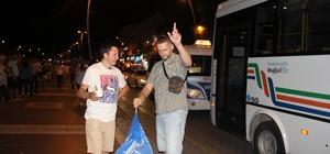Marmaris'te coşkulu AK Parti  kutlaması