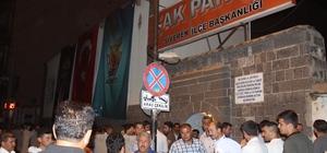 Siverek'te AK Partililer seçim zaferini kutlandı