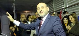 Kütahya AK Parti'de seçim sonuçları coşkuyla kutlandı