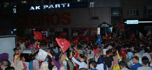 """Adıyaman'da coşkulu seçim kutlaması TBMM Başkanvekili Ahmet Aydın: """"Millete sırt çevirenler başarıyı gölgelemeye çalışıyorlar"""""""