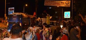 Ortaca'da seçim kutlaması