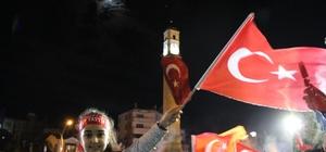 Çorum'da Erdoğan coşkusu