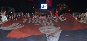 Ünyeliler AK Parti'nin zaferini kutladı