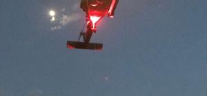Kayalıklara düşen Macar paraşütçü askeri helikopterle kurtarıldı