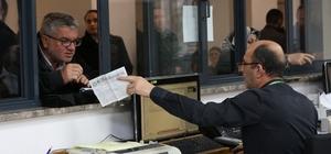 Melikgazi'de emlak vergisinin birinci taksitleri ödendi