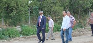 Başkan Alıcık, Dallıca çayında incelemede bulundu