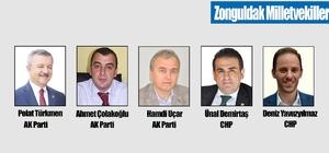 Zonguldak'ta kesin olmayan sonuçlara göre AK Parti 3, CHP 2 milletvekili kazandı