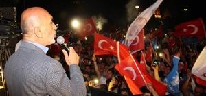 Seçim sonuçları Konya'da coşkuyla kutlandı