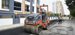 Tepabaşı'nda yol yapım ve onarım çalışmaları