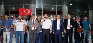 """Başkan Sarıcaoğlu: """"Kavak bizi ve partimizi hiçbir zaman yalnız bırakmadı"""""""