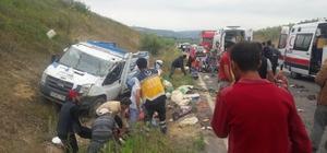 Kazada ölen tarım işçilerinin kimlikleri belli oldu Ölen tarım işçilerinin Suriye uyruklu oldukları belirtildi