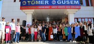 GAÜN'de yabancılara Türkçe öğretimi sertifika töreni
