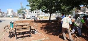 Haliliye Belediyesi, parkları yaşam alanlarına dönüştürüyor