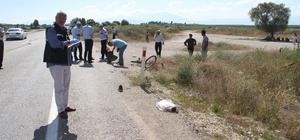 Bisikletliye çarparak ölümüne neden olan sürücü, kaçarken polis tarafından yakalandı