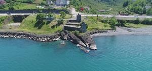 Klida Kalesi ilgi bekliyor Yaklaşık 9 yıl önce aslına uygun olarak restore edilen tarihi kale turizme açılmayı bekliyor