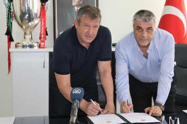 Akhisar Belediyespor'un yeni teknik direktörü Susic imzayı attı