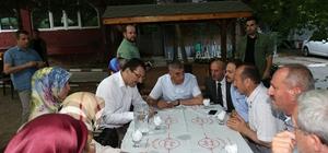 Başkan Toçoğlu Akyazı teşkilatıyla bir araya geldi