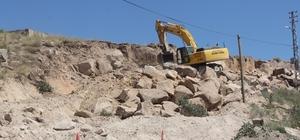 Başkan Karayol yol genişletme çalışmalarını yerinde inceledi