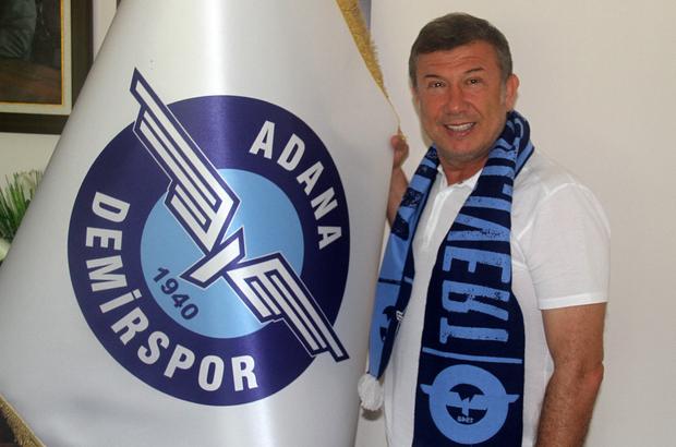 Adana Demirspor'da sportif direktörlüğe Tanju Çolak getirildi