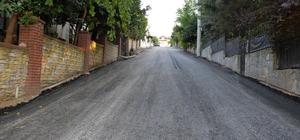Başiskele'de 3 kilometrelik yol daha asfaltlandı
