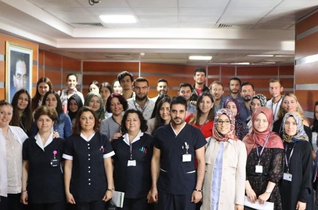 DPÜ Kütahya Evliya Çelebi Eğitim ve Araştırma Hastanesi'ne 93 yeni hemşire
